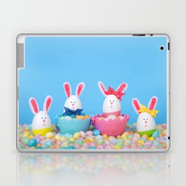 Easter Bunny Eggs Laptop & iPad Skin