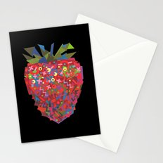 Strawberry (Fraise) Stationery Cards