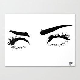 eyez on the prize Canvas Print