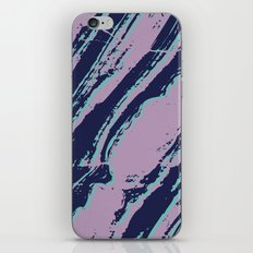 Lilac marble effect iPhone Skin