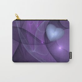A lonely Heart Fractal Art Carry-All Pouch