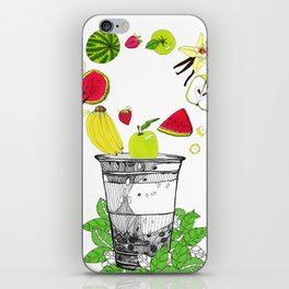 Fruit cup iPhone Skin