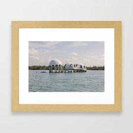 Cape Romano Domes Framed Art Print