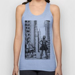 Fearless Girl New York City Unisex Tank Top