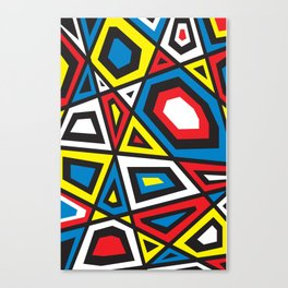 Primary colors 7 Canvas Print
