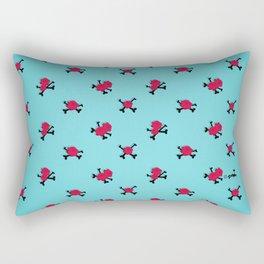 Sugar Skull Pin-Up Rectangular Pillow