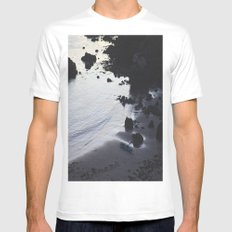 Kayak Mens Fitted Tee White MEDIUM