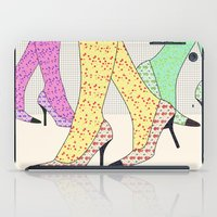 shoes iPad Cases featuring Shoes by Ben Geiger