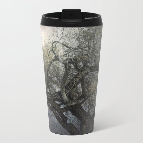 The Whispering Tree Metal Travel Mug