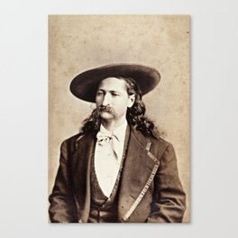 Wild Bill Hickok Canvas Print