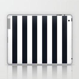 Vertical Stripes Black & White Laptop & iPad Skin
