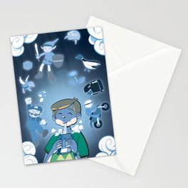 Classic Video Games Stationery Cards