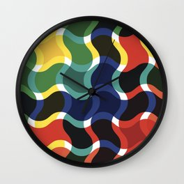 Art colour color new hot 2018 style artist colourful coloring colourng collection support rb vintage Wall Clock