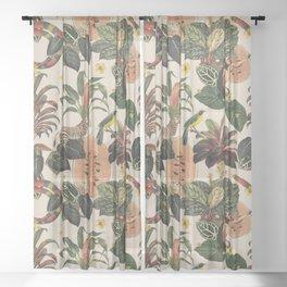 Jungla Crema Sheer Curtain
