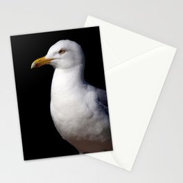 Standing Seagull Stationery Cards