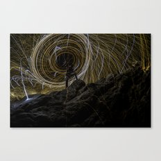 Rock Wool Canvas Print