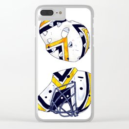 Herron and Murray Clear iPhone Case