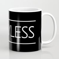 flawless Mugs featuring Flawless by Ebony