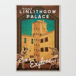 Linlithgow Palace, Scotland Canvas Print