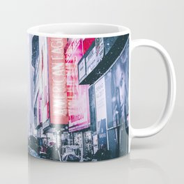 NYC Neon Winter Coffee Mug