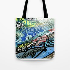 Graffiti is Art Tote Bag