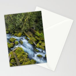 A River's Path Stationery Cards