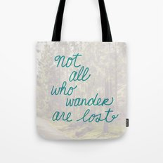 Time to Wander Tote Bag