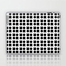 Squares & circles pattern Laptop & iPad Skin