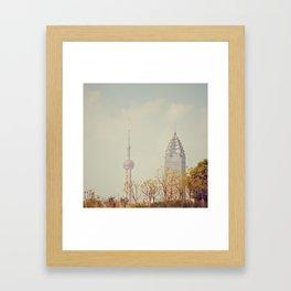 Shanghai Framed Art Print