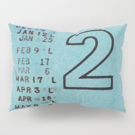 Ilium Public Library Card No. 2 Pillow Sham