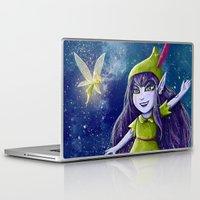 neverland Laptop & iPad Skins featuring Lulu Neverland by Anais.Lalovi