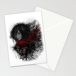 Shingeki no Kyojin Mikasa Ackerman Stationery Cards