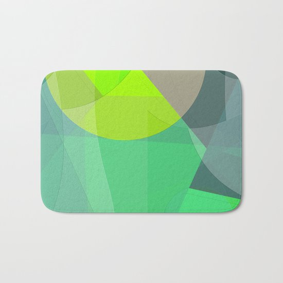 Abstract 2017 033 Bath Mat