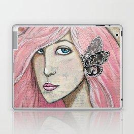 Time Enough Mixed Media Laptop & iPad Skin
