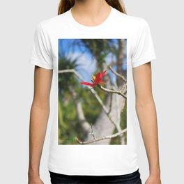 While the Mockingbird Sings- vertical T-shirt