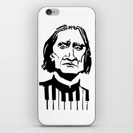 Liszt iPhone Skin