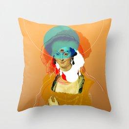 Peter Paul Rubens Pop Portrait Throw Pillow