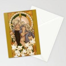 Chronos III Nouveau Stationery Cards