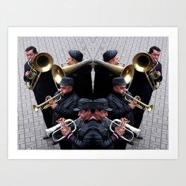 Syjam Orchestra Art Print