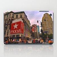 manhattan iPad Cases featuring Manhattan by Jaime Viens