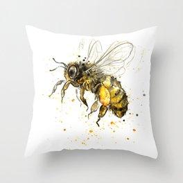 Honey Bee 2012  Throw Pillow