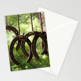 Rusty Horseshoes Stationery Cards