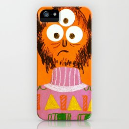 Shape Sweater Monster iPhone Case