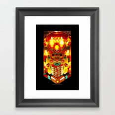 PINBALL Framed Art Print