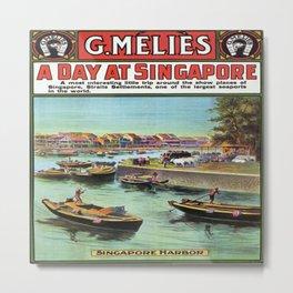 Vintage poster - Singapore Metal Print