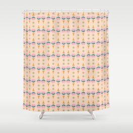 Vanilla Ice Cream Shower Curtain