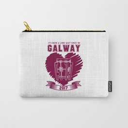 All Ireland Senior Hurling Champions: Galway (White/Maroon) Carry-All Pouch