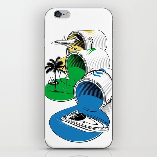 Luxury Paints iPhone & iPod Skin