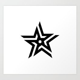 Untitled Star Art Print