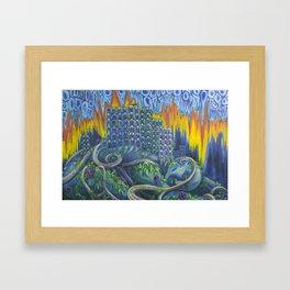Cosmic Slop Framed Art Print